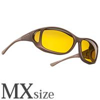 偏光 オーバーグラス ポラライズド C705Y COCOONS [コクーンズ] スタイルライン[MX] メガネの上からサングラス