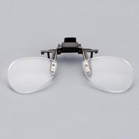 クリップオン 老眼鏡 [小] メガネ装着 取り外し可能 クリップタイプ carton カートン 跳ね上げ式