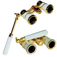 柄付オペラグラス[TASCO SAFARI] 3倍 25mm オペラグラス コンサート 双眼鏡 カートン光学