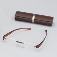 老眼鏡 ブライトグラス2 ブラウン carton