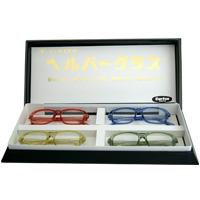 老眼鏡4枚セット 老眼鏡 リーディンググラスカートン光学