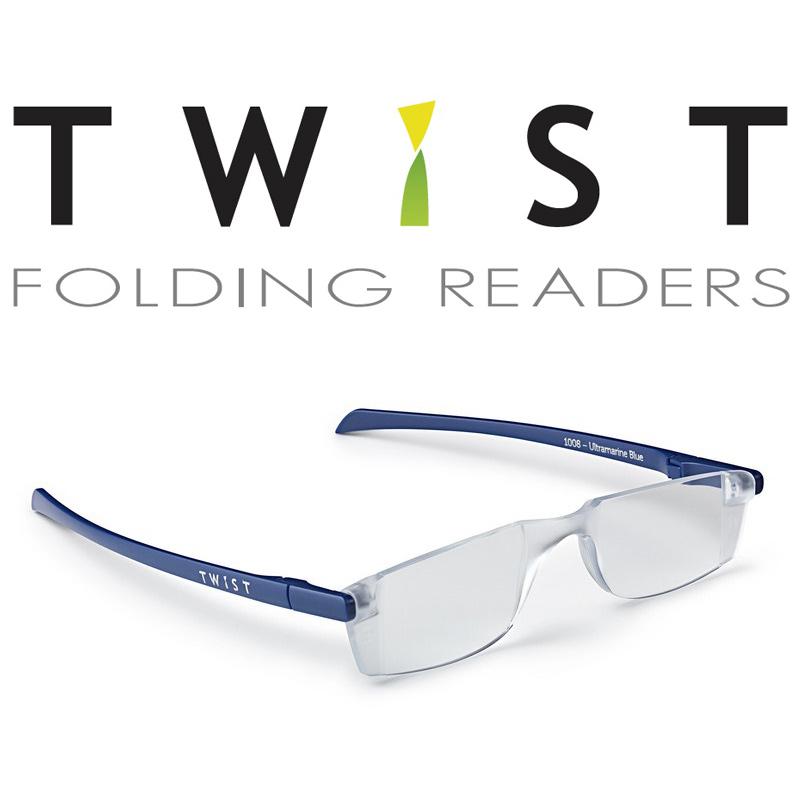シニアグラス TWIST ネイビー 折りたたみ式 カートン 老眼鏡 おしゃれ メンズ レディース シニアグラス 携帯用 母の日 父の日 敬老