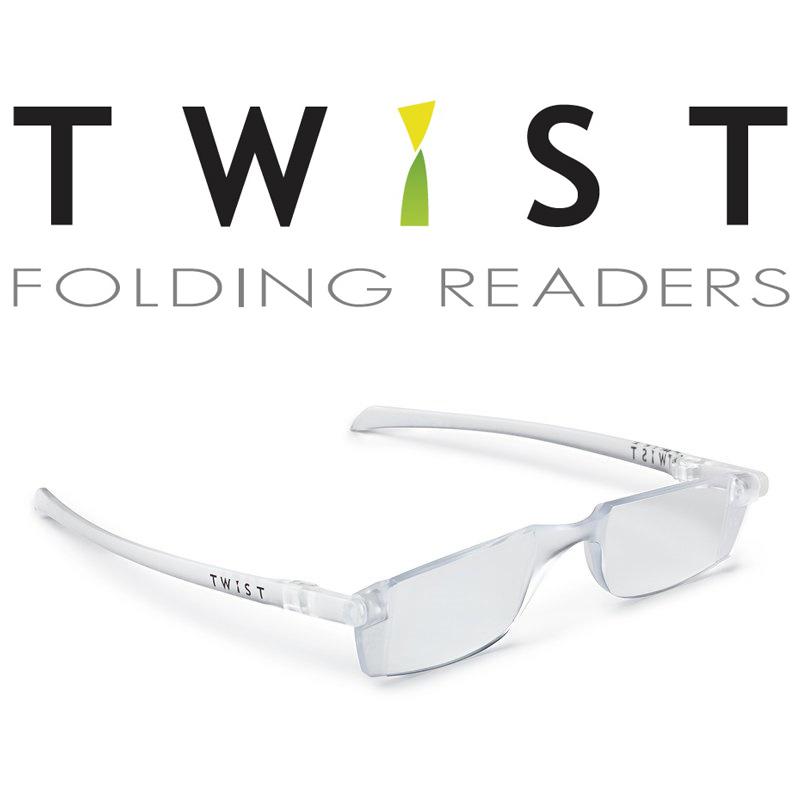 シニアグラス TWIST クリア 折りたたみ式 カートン 老眼鏡 おしゃれ メンズ レディース シニアグラス 携帯用 母の日 父の日 敬老