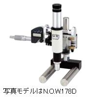 マイク口 測定顕微鏡 NMM-25A 20倍 N.O.W.178A 【アナログ式】カートン 加工品規格検査 加工面観察