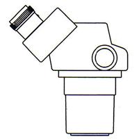 顕微鏡 双眼 実体顕微鏡 [ヘッド] DSZ-44 60°ヘッド 10倍〜44倍 カートン ズーム式