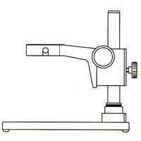 カートン スタンドP 単眼ズーム顕微鏡用 単眼ズーム顕微鏡 スタンド 顕微鏡 観察 検査 拡大