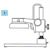 カートン 実体顕微鏡 [スタンド] PF 顕微鏡 スタンド 観察 拡大 検査 研究