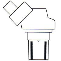 顕微鏡 双眼 実体顕微鏡 [ヘッド] NSW-40 20倍40倍 カートン 固定・変倍式