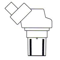顕微鏡 双眼 実体顕微鏡 [ヘッド] NSW-620 6倍20倍 カートン 固定・変倍式