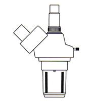 【メーカー在庫限り】 カートン 固定・変倍式三眼実体顕微鏡 [ヘッド] NSWT-620 6倍20倍 顕微鏡 観察 拡大 検査 研究