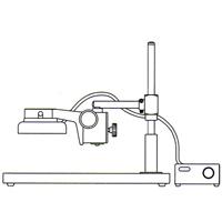 カートン 実体顕微鏡 [スタンド] LS 顕微鏡 スタンド 観察 拡大 検査 研究