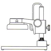ズーム式 三眼実体顕微鏡 IFスタンド カートン 顕微鏡 観察 拡大 検査 研究