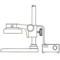 カートン 実体顕微鏡 [スタンド] FTPF 顕微鏡 スタンド 観察 拡大 検査 研究