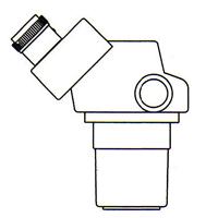 顕微鏡 双眼 実体顕微鏡 [ヘッド] DSZ-44 10倍〜44倍 カートン ズーム式