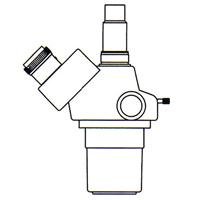 カートン ズーム式三眼実体顕微鏡 [ヘッド] DSZT-44 10倍〜44倍 顕微鏡 観察 拡大 検査 研究