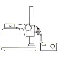 カートン 実体顕微鏡 [スタンド] SBFM 顕微鏡 スタンド 観察 拡大 検査 研究