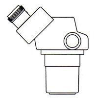 顕微鏡 双眼 実体顕微鏡 [ヘッド] SPZ-50 6.7倍〜50倍 カートン ズーム式
