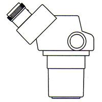 顕微鏡 双眼 実体顕微鏡 [ヘッド] DSZ-70 20倍〜70倍 カートン ズーム式