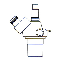 カートン ズーム式三眼実体顕微鏡 [ヘッド] DSZT-70 20倍〜70倍 顕微鏡 観察 拡大 検査 研究