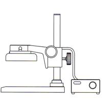 カートン 実体顕微鏡 [スタンド] FTPFL 顕微鏡 スタンド 観察 拡大 検査 研究