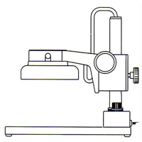 カートン 実体顕微鏡 [スタンド] PFL 顕微鏡 スタンド 観察 拡大 検査 研究