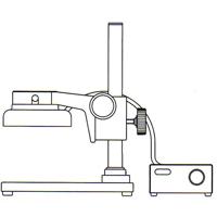 カートン 実体顕微鏡 [スタンド] SBFL 顕微鏡 スタンド 観察 拡大 検査 研究