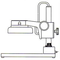 カートン 単眼ズーム顕微鏡 IFLスタンド 単眼ズーム顕微鏡 スタンド 顕微鏡 観察 検査 拡大