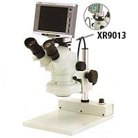 ズーム式 三眼実体顕微鏡 PX-70KSD CCDカメラ [37万画素] XR9013 カートン  顕微鏡 観察 拡大 検査 研究 PX-70KSD