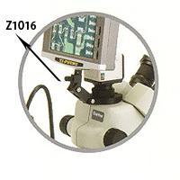 ズーム式 三眼実体顕微鏡 モニターホルダーA カートン  顕微鏡 観察 拡大 検査 研究