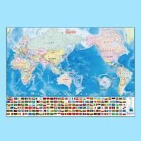 いろいろ書ける!消せる!世界地図 学習 キッズ 子供 地図 小学生 教材 デビカ