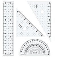 定規 セット 小学生 算数 学習教材 子供 文具 デビカ