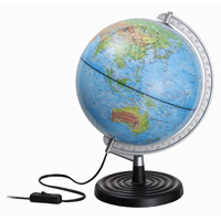 地球儀 光る ルックアップ地球儀 世界地図 社会 学習 勉強 地理