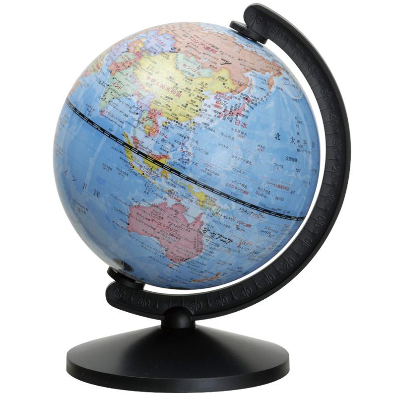 地球儀 球径13cm グローバ地球儀13 子供用 インテリア 学習 入学祝い コンパクト 軽い デビカ