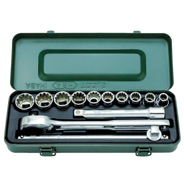 VFS4 ハイブリッドソケットセット VFS4100 旭金属工業 工具 DIY ハンドツール 修理 作業用工具