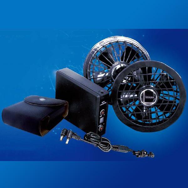ファンユニット ファン COOLING BLAST ファンユニットセット LX-6700FS リンクサス 空調 クーラー 作業服用 扇風機 節電 熱中症対策