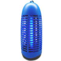 ムシ殺虫器 6W 光触媒膜付 電撃タイプ PC-06 吊るす 虫よけ 電気 ライト 殺虫器 業務用 家庭用 消臭 電撃 害虫退治 軒下 置く