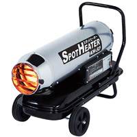 スポットヒーター「単相100V」KH-50 業務用油だき可搬形ヒーター 003614 ナカトミ 暖房器具 暖房 乾燥 工場 業務用 ヒーター NAKATOMI