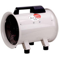 200mm 軸流送排風機 「全閉式 単相100V」NJF-200 008008 ナカトミ  業務用 工場用 循環 送風 排風 空調 機械等の部分冷却 NAKATOMI