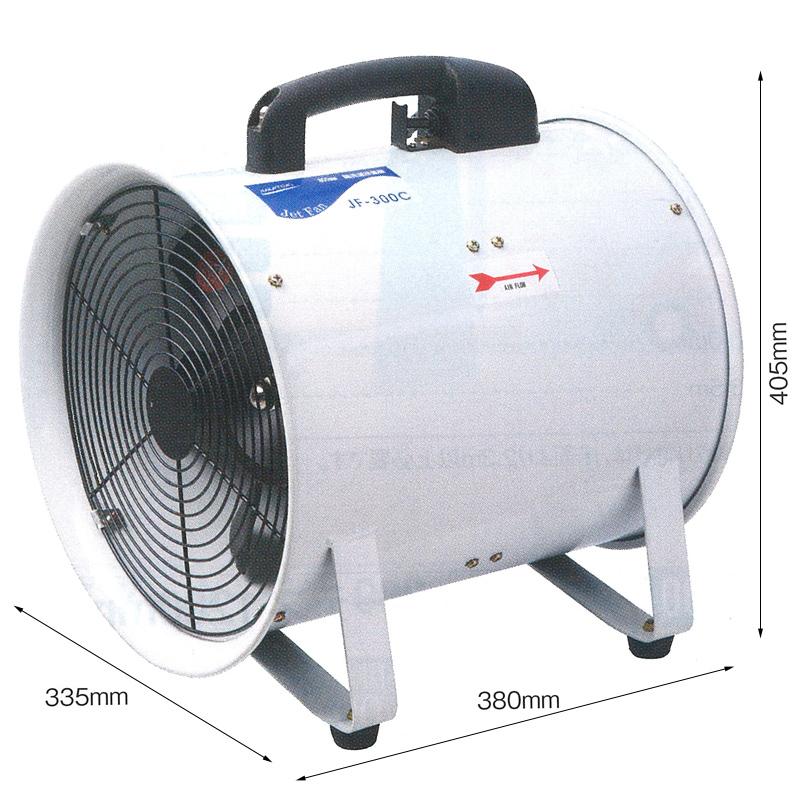 300mm軸流送風機 JF-300C [全閉式] 000640 NAKATOMI ナカトミ 循環 送風 排風 機械冷却 送風機 工場扇 業務用 工場用