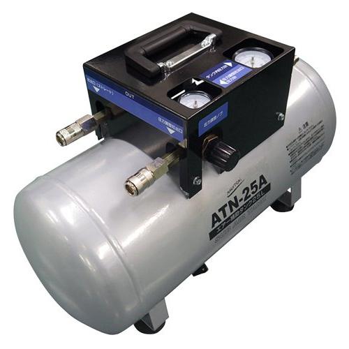 エアー補助タンク ATN-25A 000665 NAKATOMI ナカトミ 業務用 エアーコンプレッサー用 DIY 工場 工具 機器