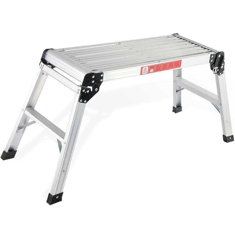 アルミ 作業台 脚立 伸縮 足場台 踏み台 ステップ台 折りたたみ コンパクト 持ち運び