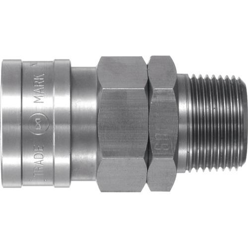 ハイカプラ 600SM ステンレス鋼(SUS304) SUS600SM NITTO 工具 接続用 DIY 日東工器