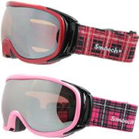 ゴーグル ダブルレンズ [13-14カタログモデル] SMOOCH [スムーチ] スキー スノボ スノボー [スノーボード] ゴーグル SFM-459 PLUM レディース 女性用 スノーゴーグル