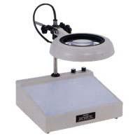 照明拡大鏡 ライトボックスインバータータイプ、調光機能付き ENV-CL 6倍 オーツカ光学 拡大鏡 LED拡大鏡 ルーペ 検査 趣味