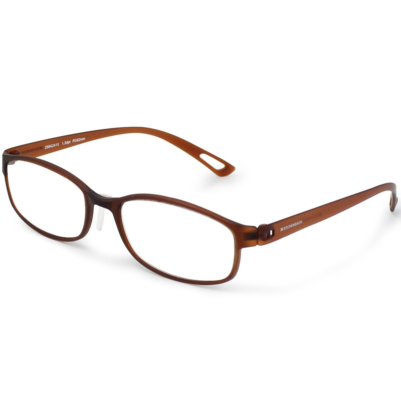 シニアグラス エアー PC ブルーライトカット機能つき ブラウン エッシェンバッハ 老眼鏡 おしゃれ 男性 女性 メンズ レディース 敬老 プレゼント