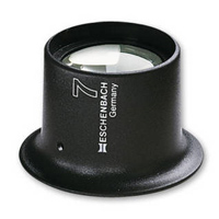 時計見 アイルーペ 10倍 25mm 時計技術者用 112410 キズミ 傷見用ルーペ キズ 目に装着 watchmaker's magnifiers エッシェンバッハ