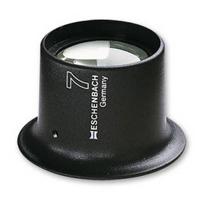 時計見 アイルーペ 7倍 25mm 時計技術者用 11247 キズミ 傷見用ルーペ キズ 目に装着 watchmaker's magnifiers エッシェンバッハ
