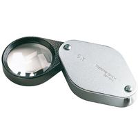 虫眼鏡 精密 繰り出しルーペ [folding metal magnifiers] 5倍 30mm 工業用精密検査用 11775 エッシェンバッハ