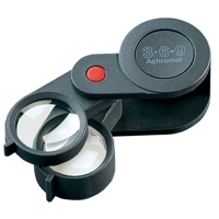 虫眼鏡 精密 繰り出しルーペ 9倍 23mm 工業用精密検査用 11869 エッシェンバッハ