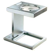 リネンテスター 5倍 23.3mm 繊維の織りあがりや印刷などの検査用 1259 [precision metal linen testers] エッシェンバッハ